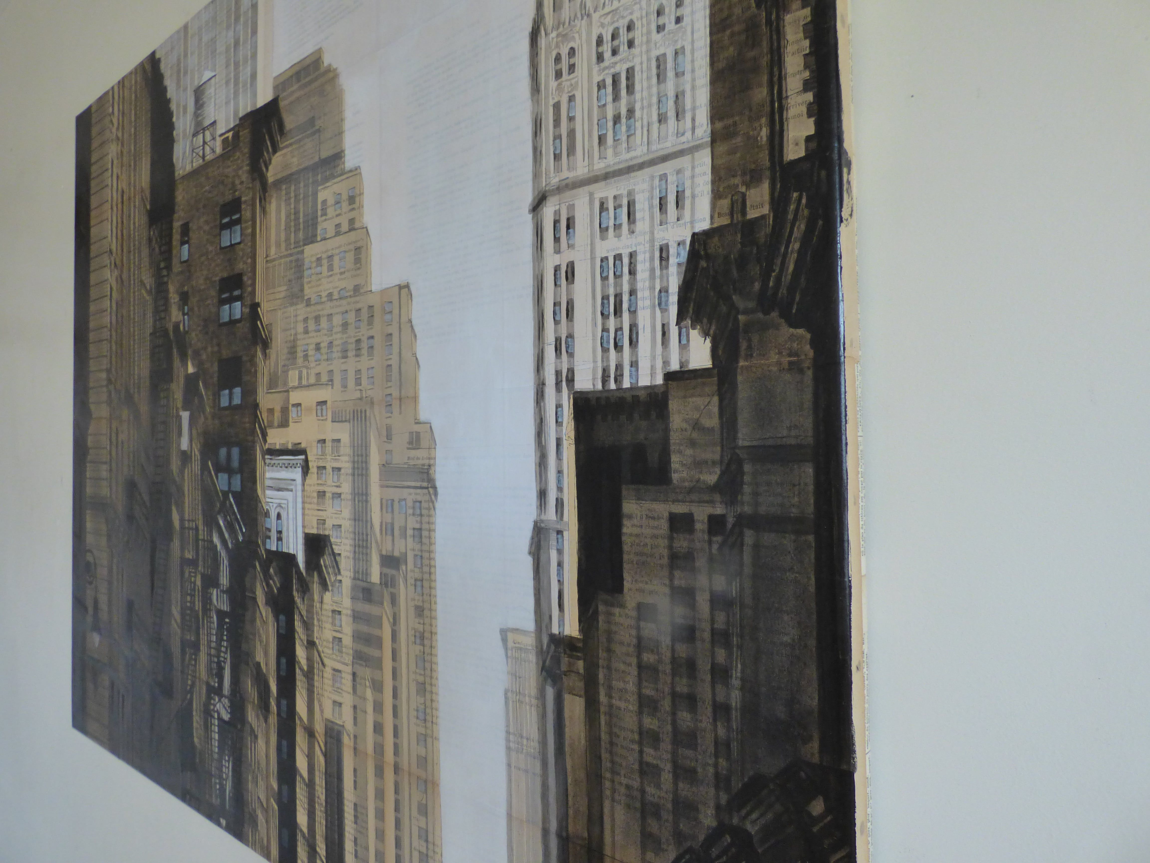 Prince St and Broadway,Guillaume Chansarel,Dessin, detail 3