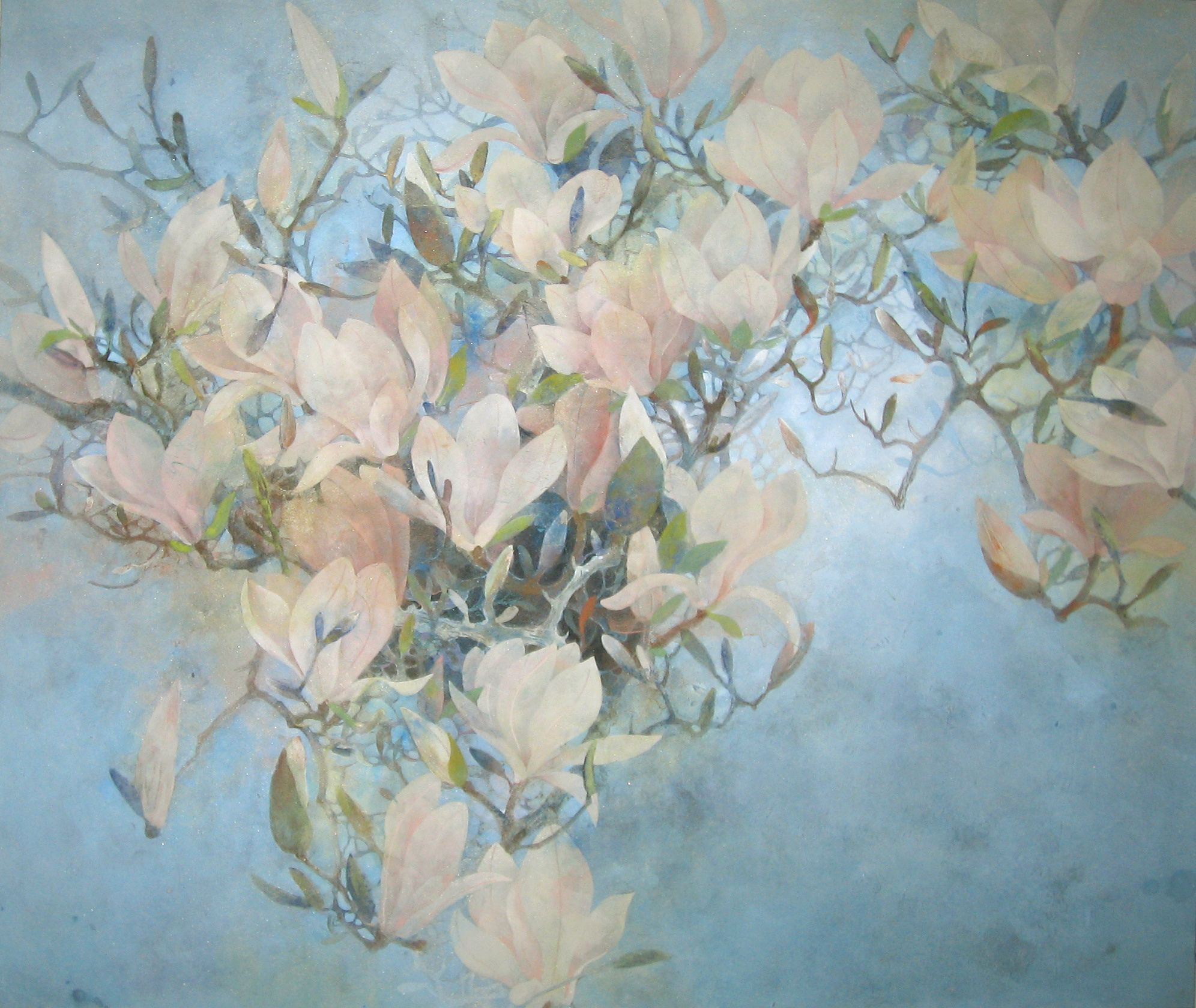 printemps,Chen Yiching,Peinture contemporaine