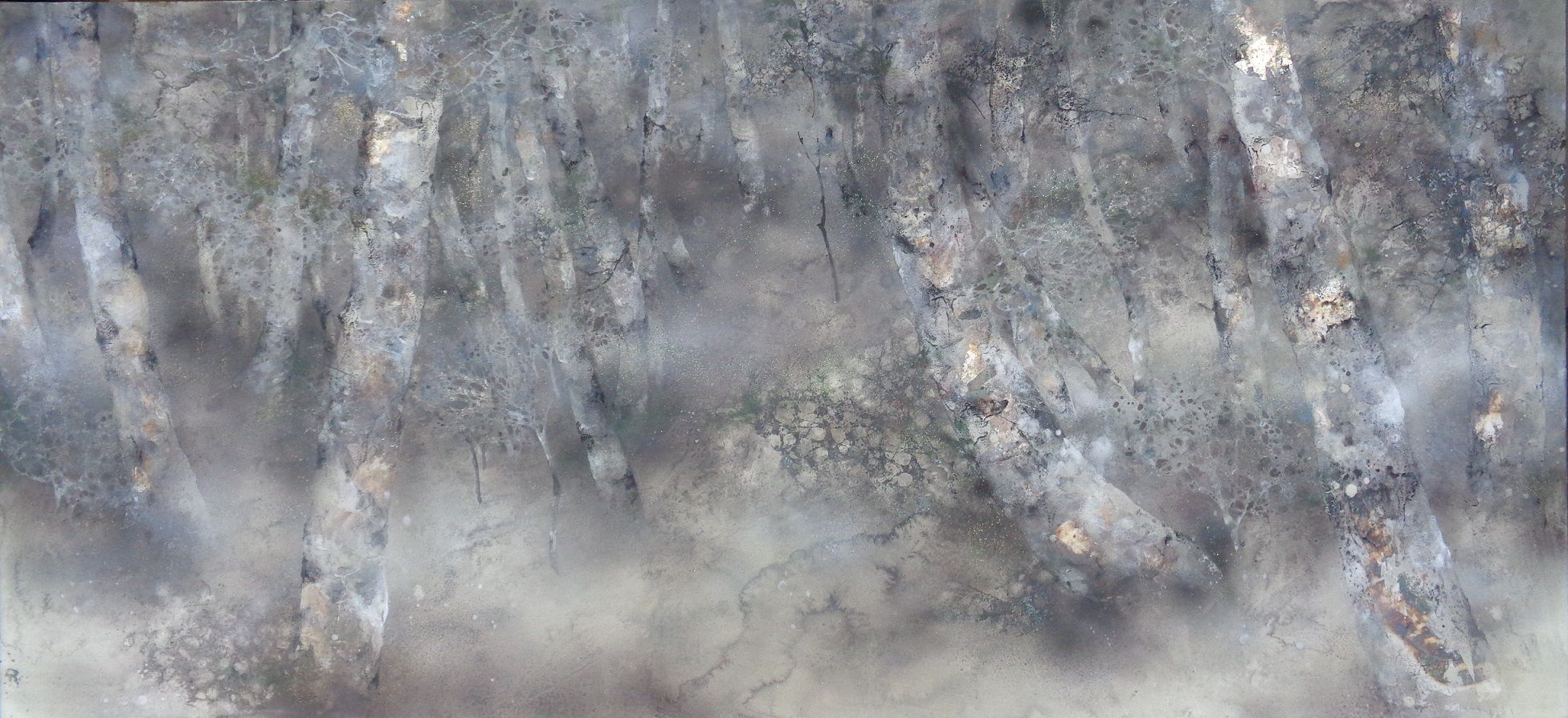 Walk,Chen Yiching,Contemporary painting