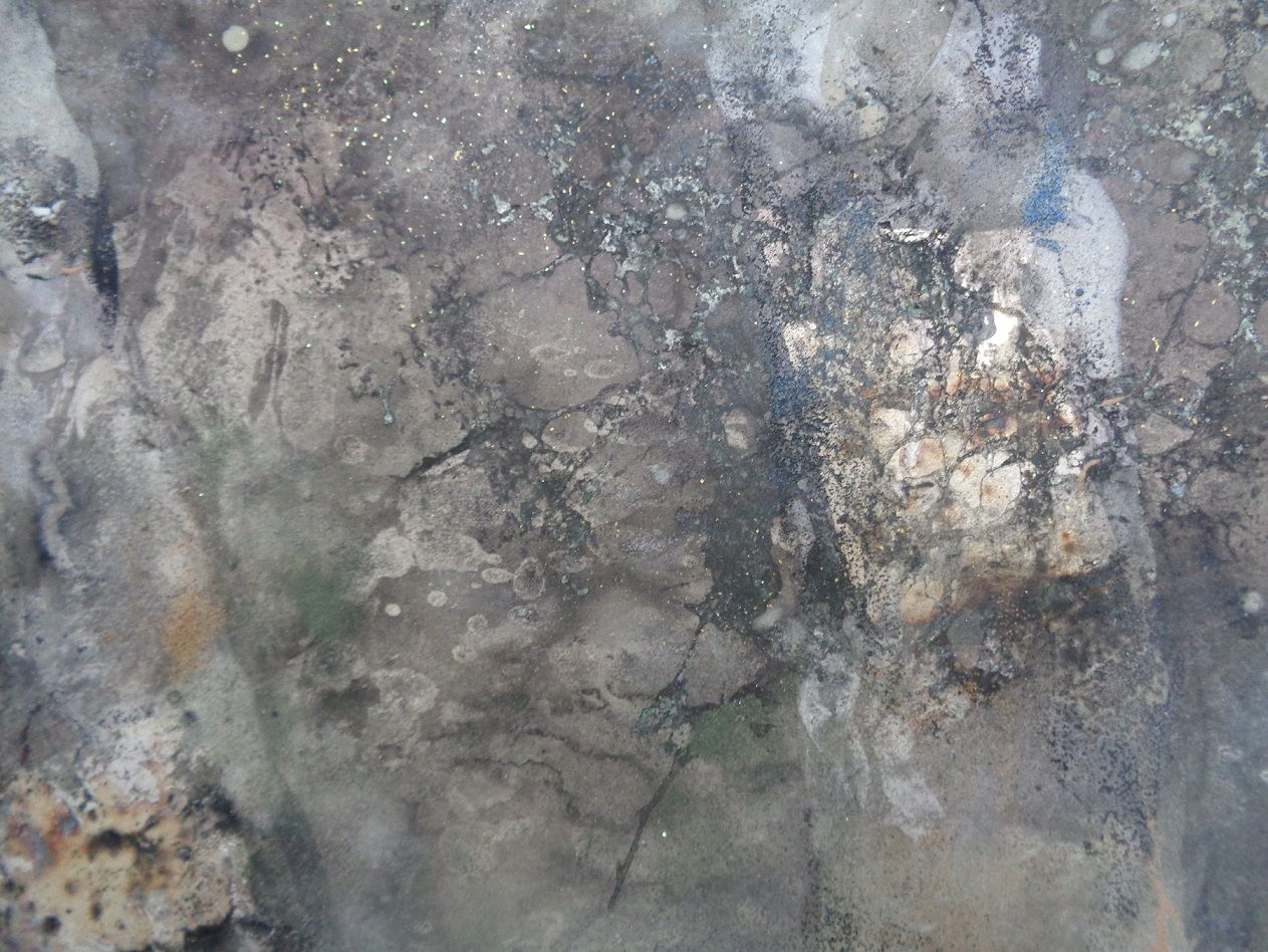 Walk,Chen Yiching,Contemporary painting, detail 4
