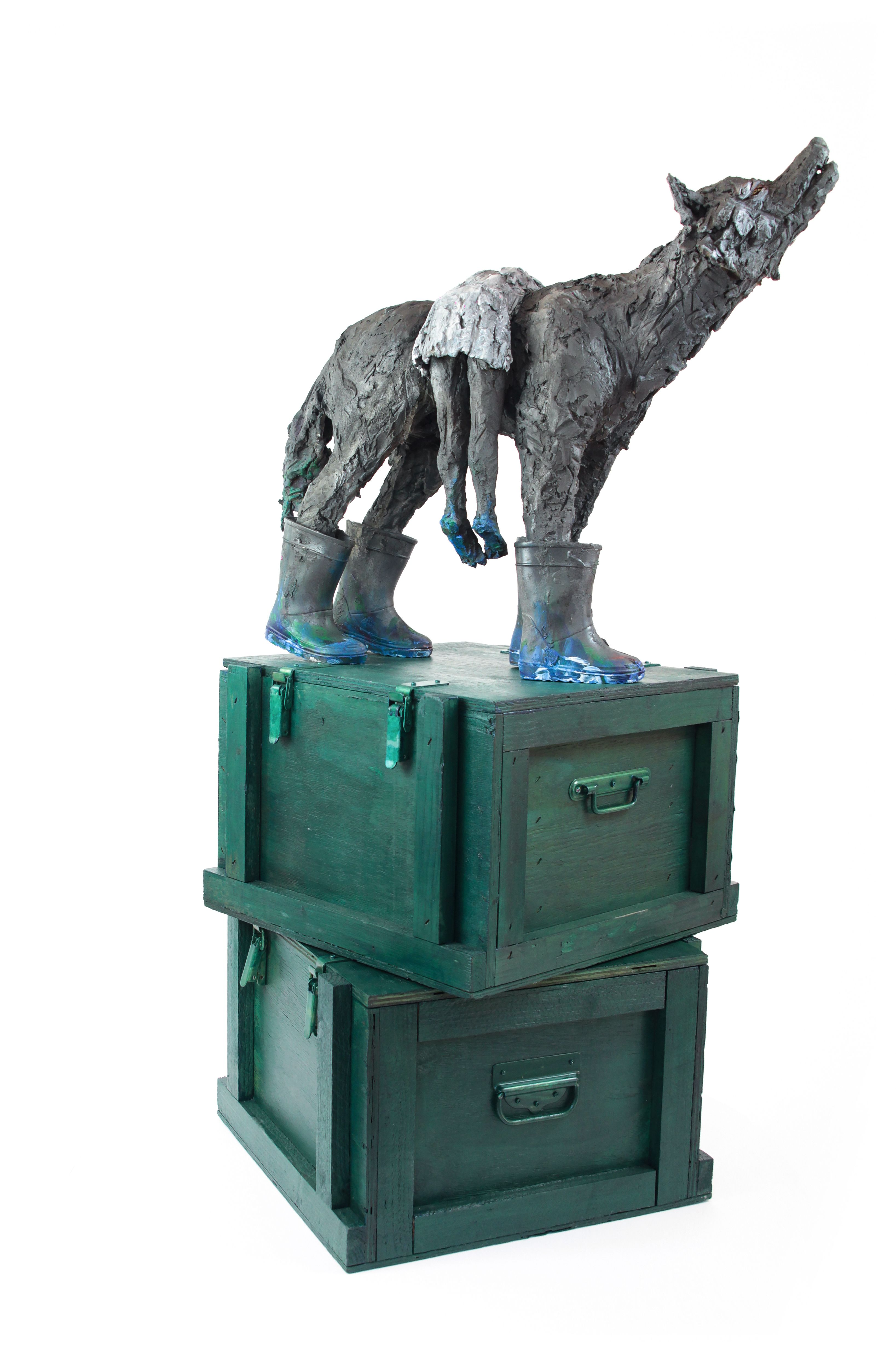 What's up, you say nothing ? - Cécile Raynal - Sculpture