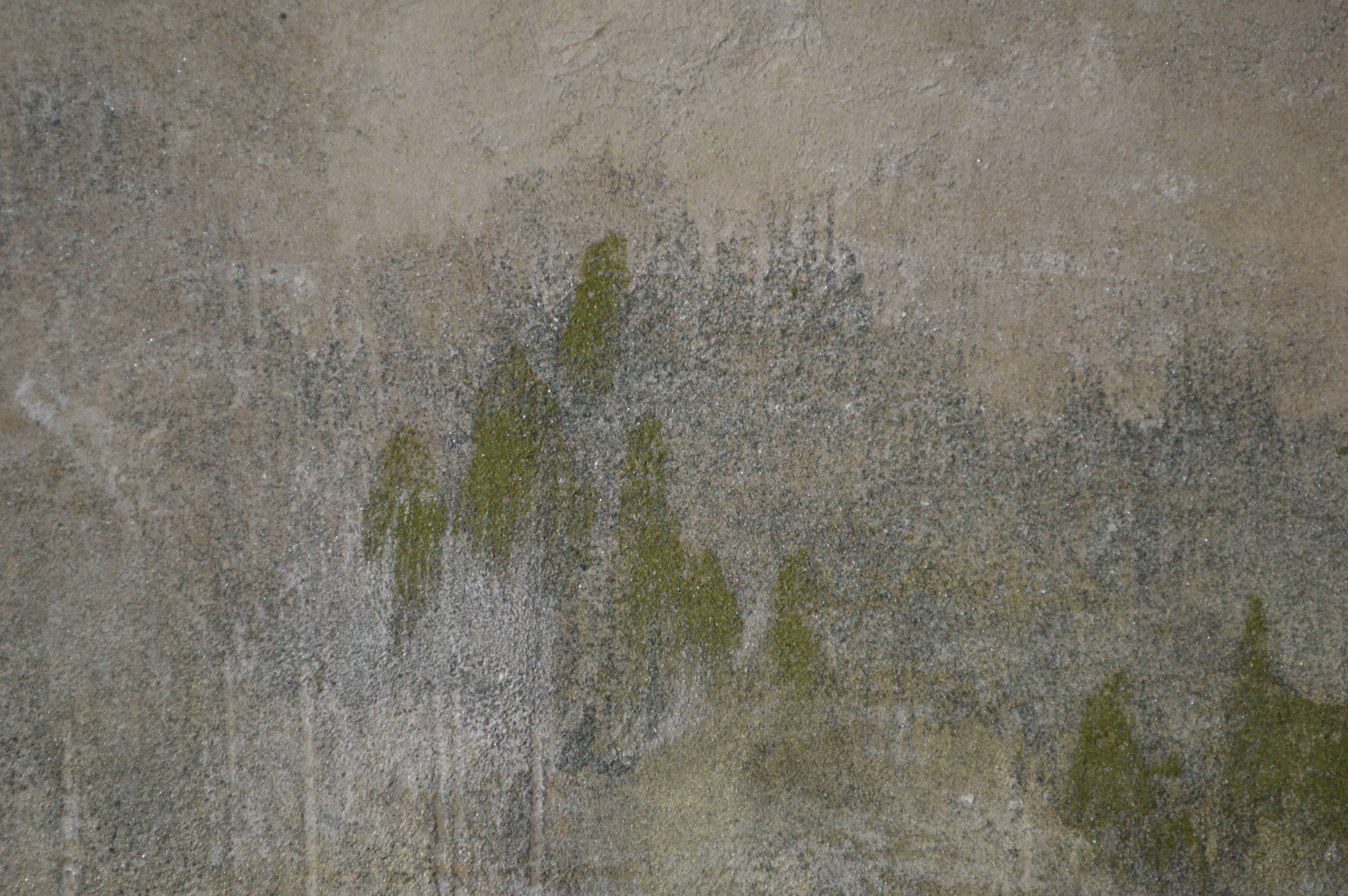Quiétude,Chen Yiching,Peinture contemporaine, detail 2