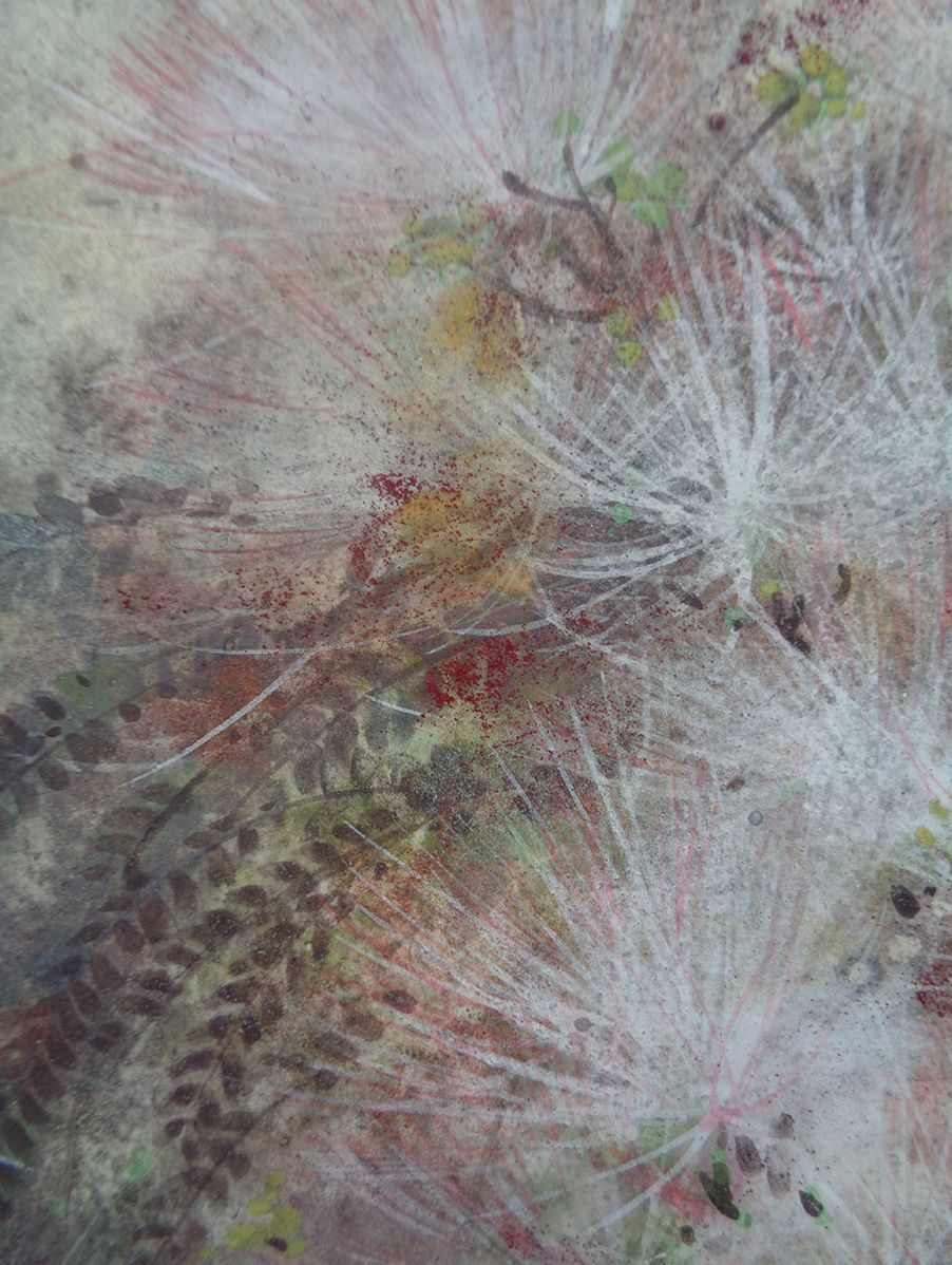 Research II,Chen Yiching,Contemporary painting, detail 3