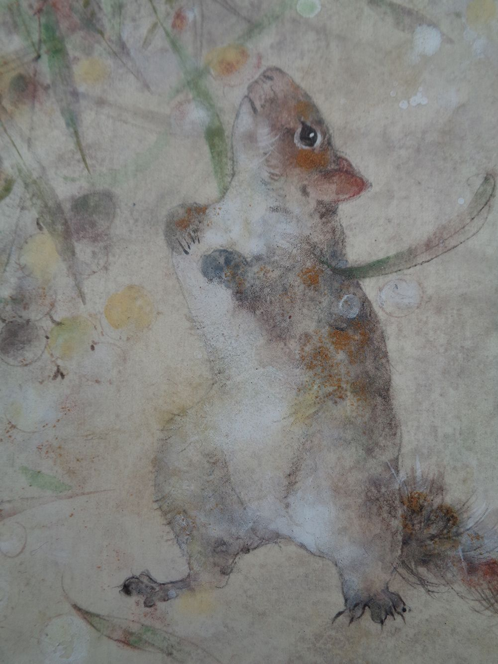 Research III,Chen Yiching,Contemporary painting, detail 2