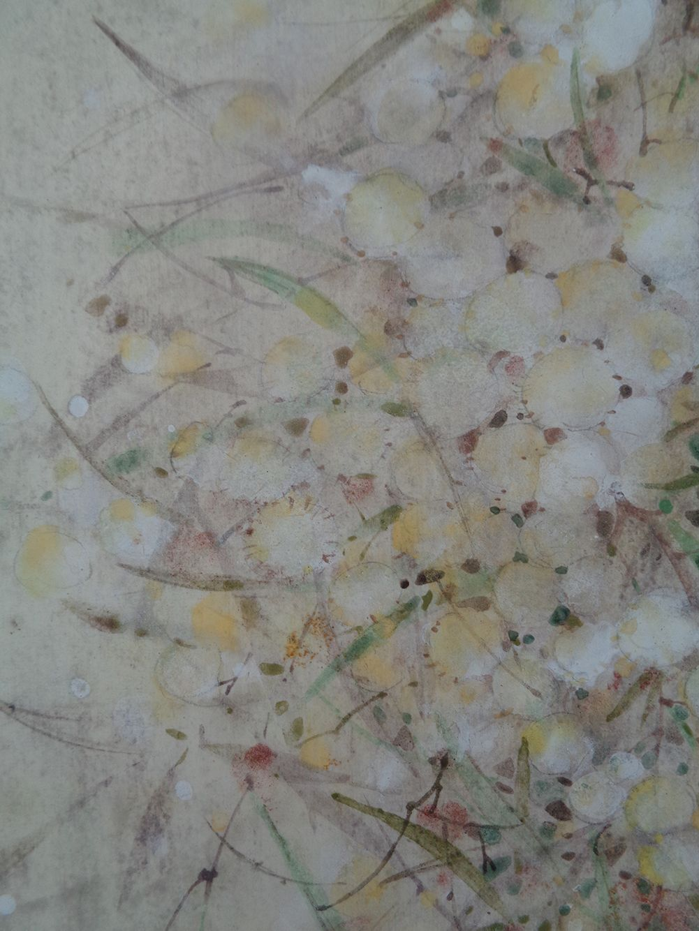 Research III,Chen Yiching,Contemporary painting, detail 3