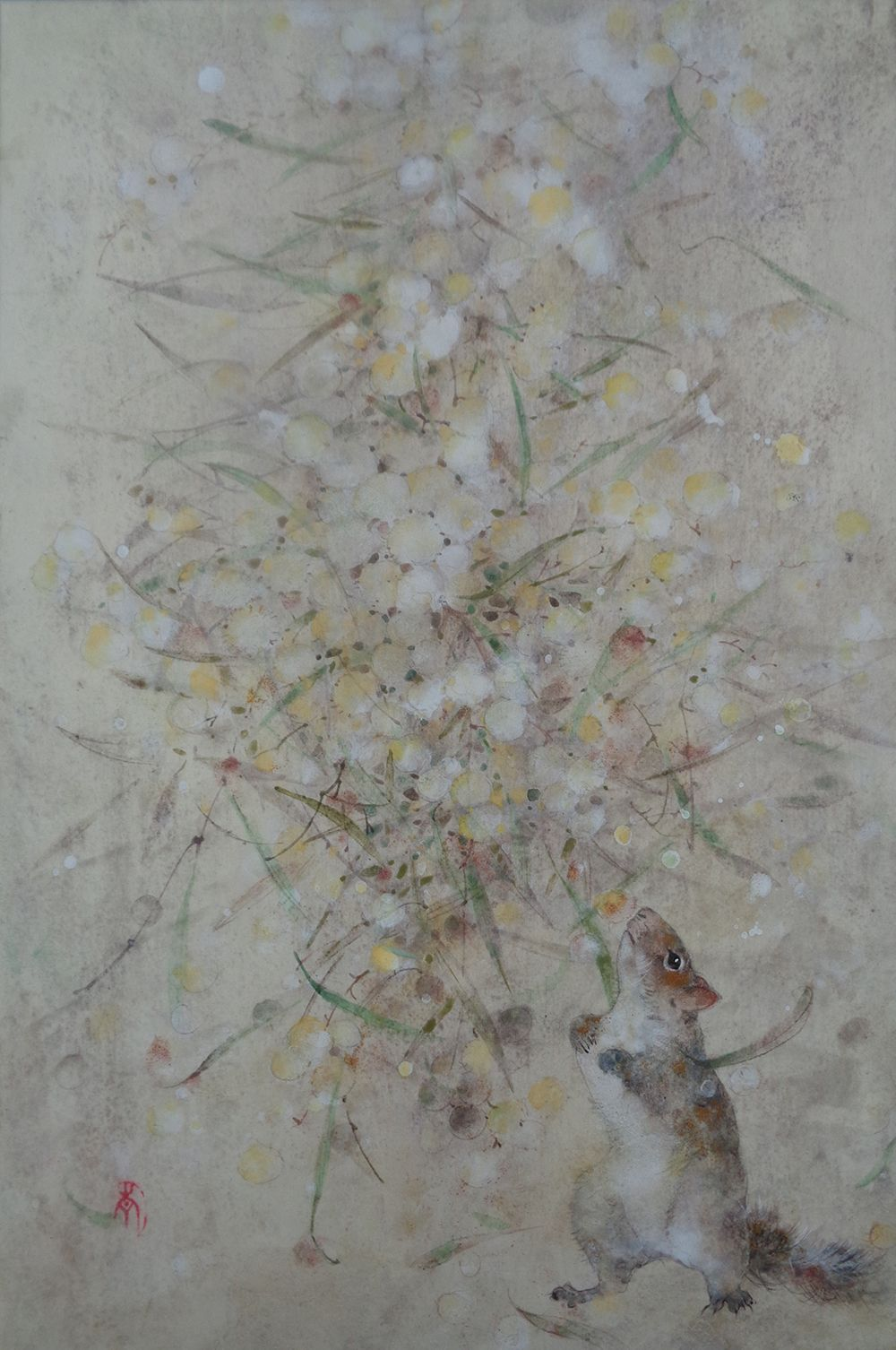 Research III,Chen Yiching,Contemporary painting