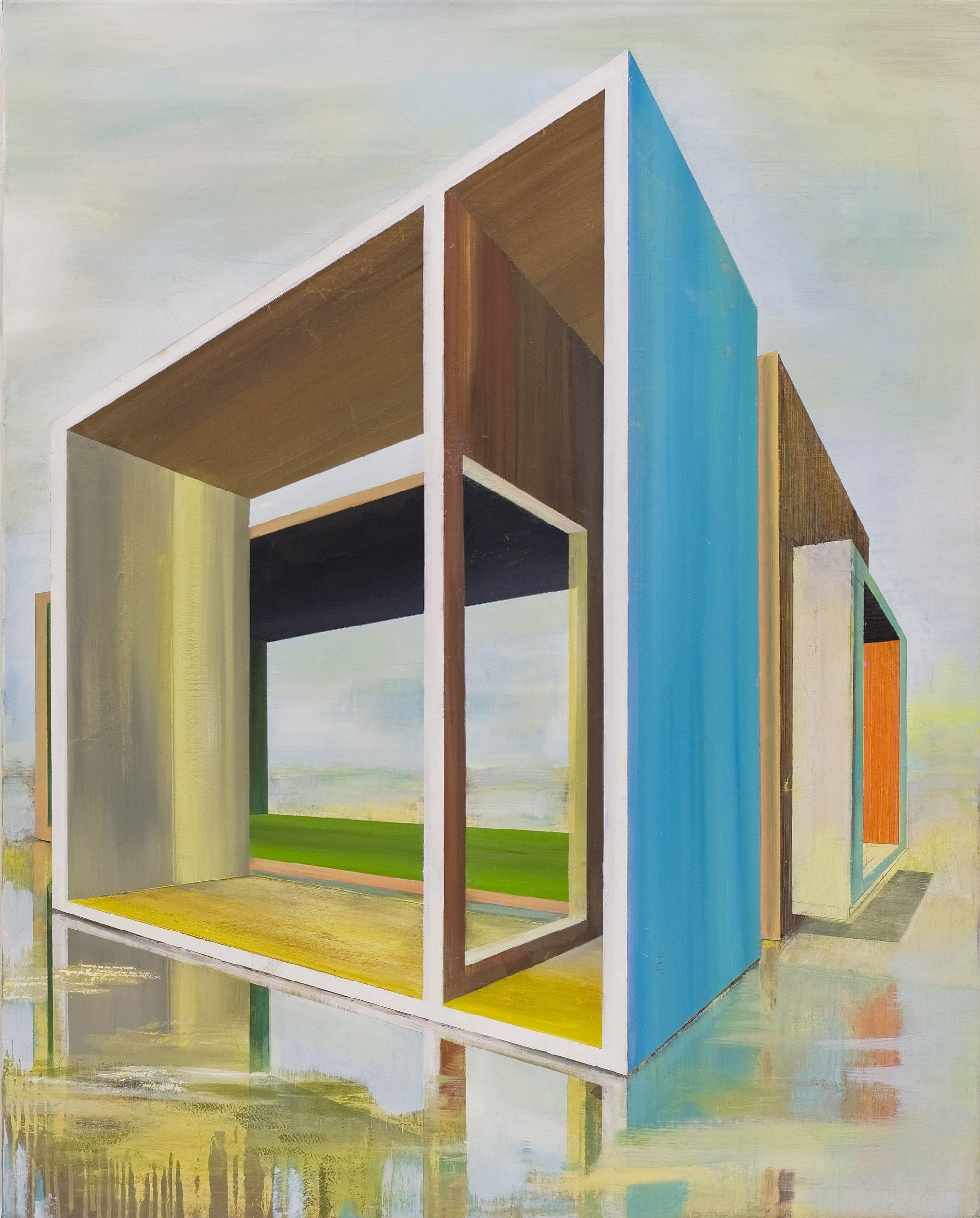 Rooms,Emanuel Schulze,Contemporary painting