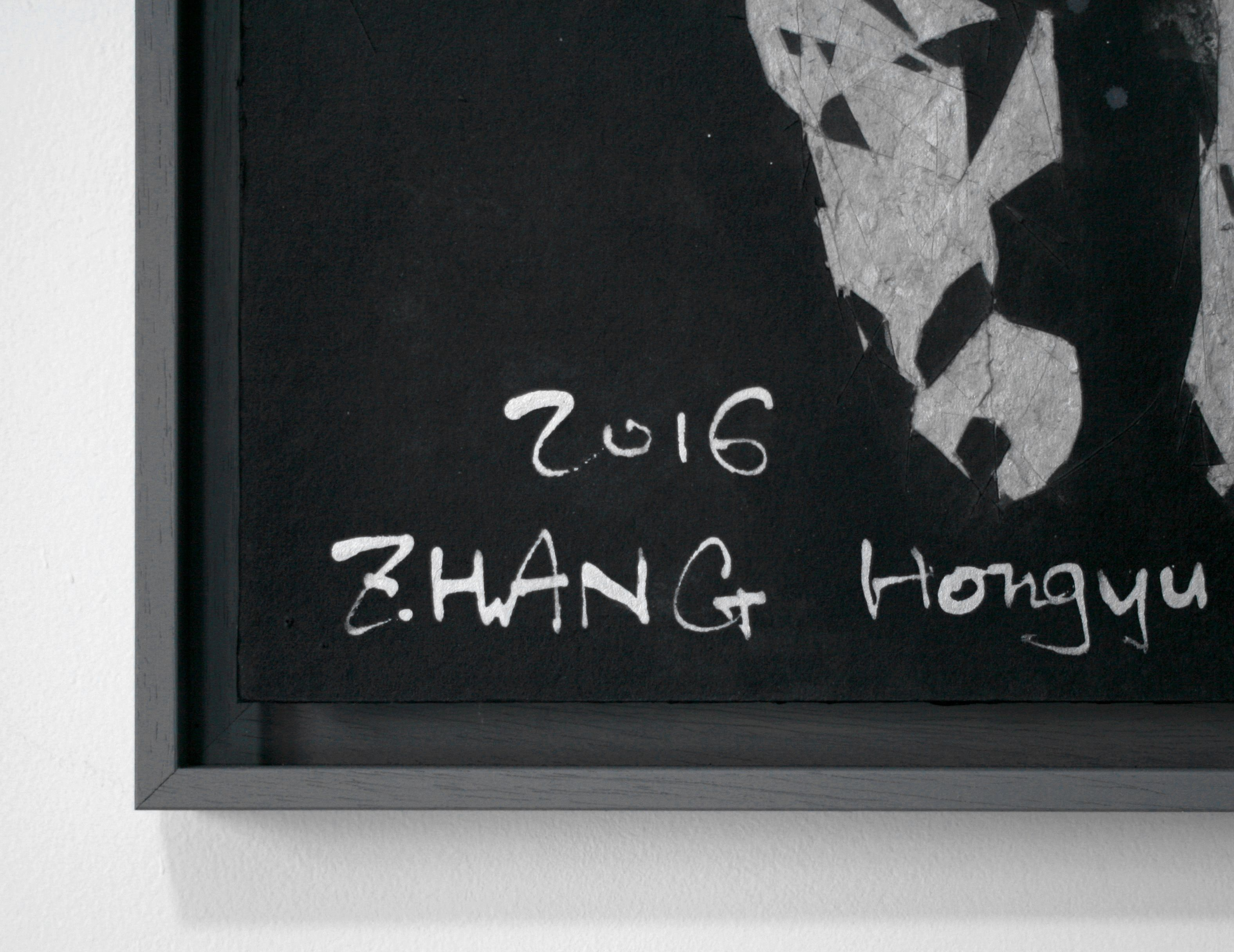 Tribute to Artists 2 - Hongyu Zhang - Contemporary painting - detail 3