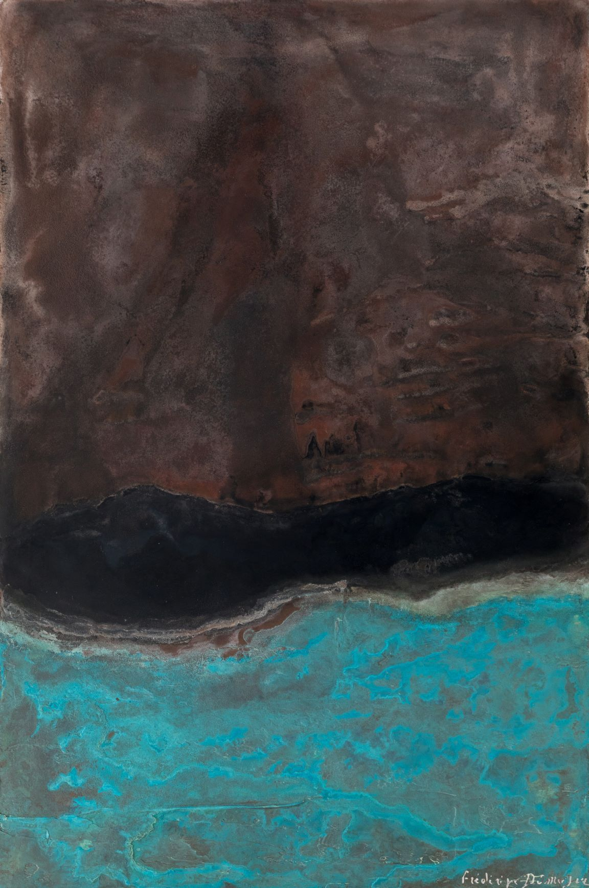 Sans titre XIX-X, Small size series,Frédérique Domergue,Contemporary painting