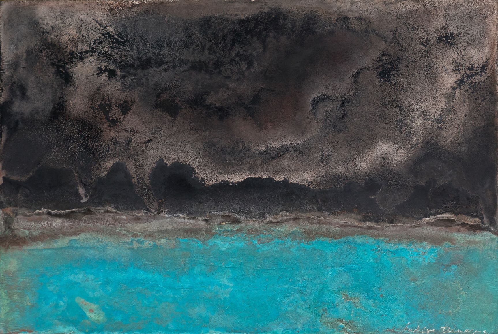 Untitled XIX-XIII, Small size series,Frédérique Domergue,Contemporary painting