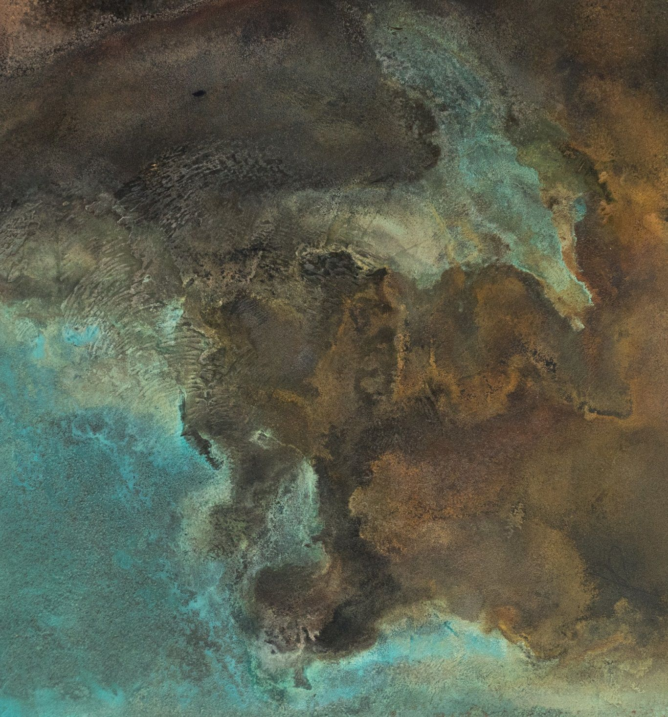 Untitled XIX-XXVI, Small size series,Frédérique Domergue,Contemporary painting, detail 1