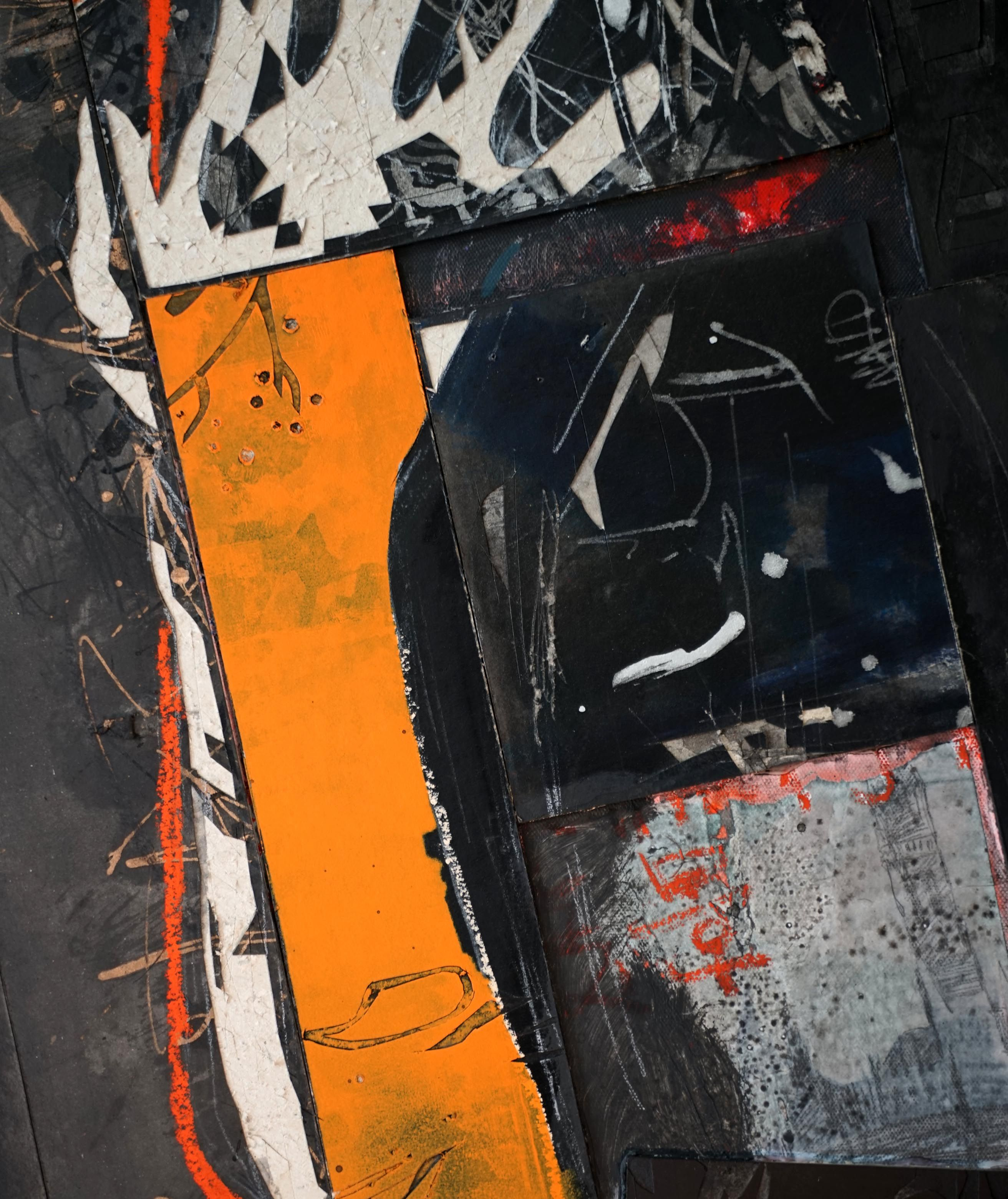 Untitled 20 ,Hongyu Zhang,Contemporary painting, detail 3