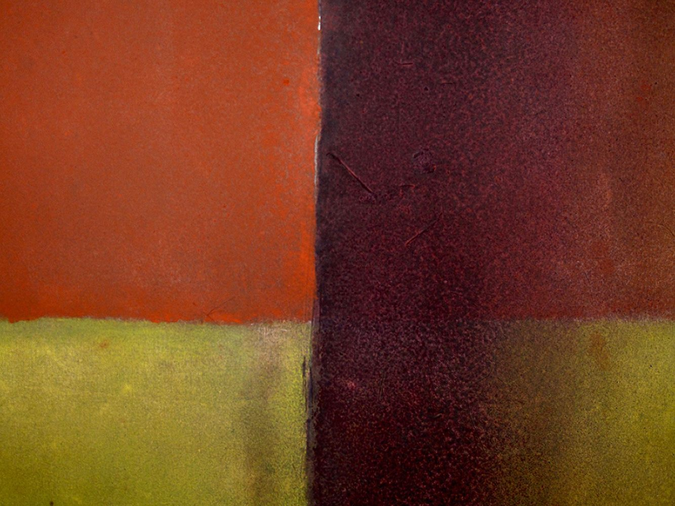 Untitled XV, Abstract (medium size) - Elvire Ferle - Contemporary painting - detail 2