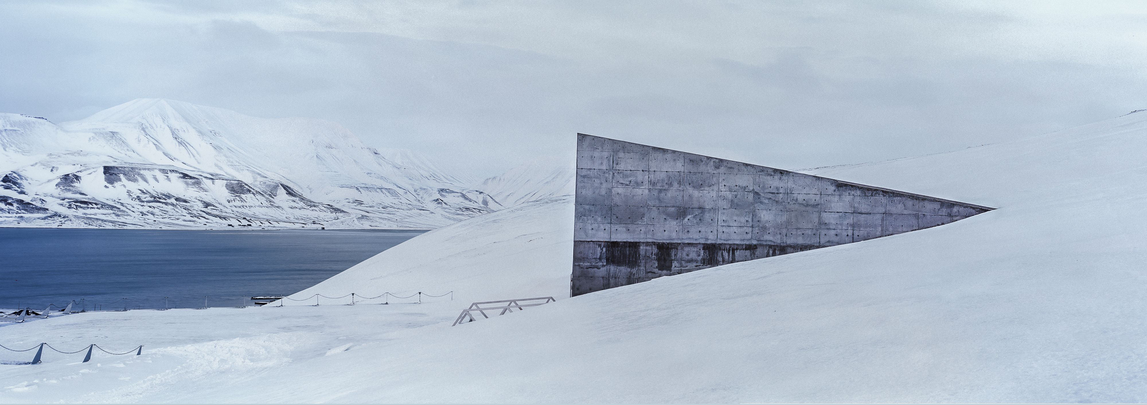 Seed Vault, Arctic Technology, Spitsbergen,Christian Houge,Photographie