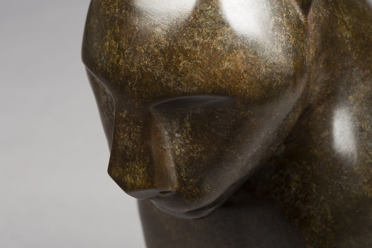 Serena,Marie Louise Sorbac,Sculpture, detail 3