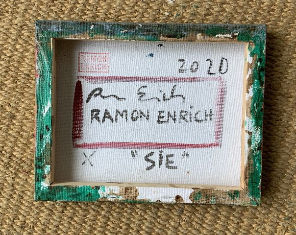 SIE - Ramon Enrich - Contemporary painting - detail 1