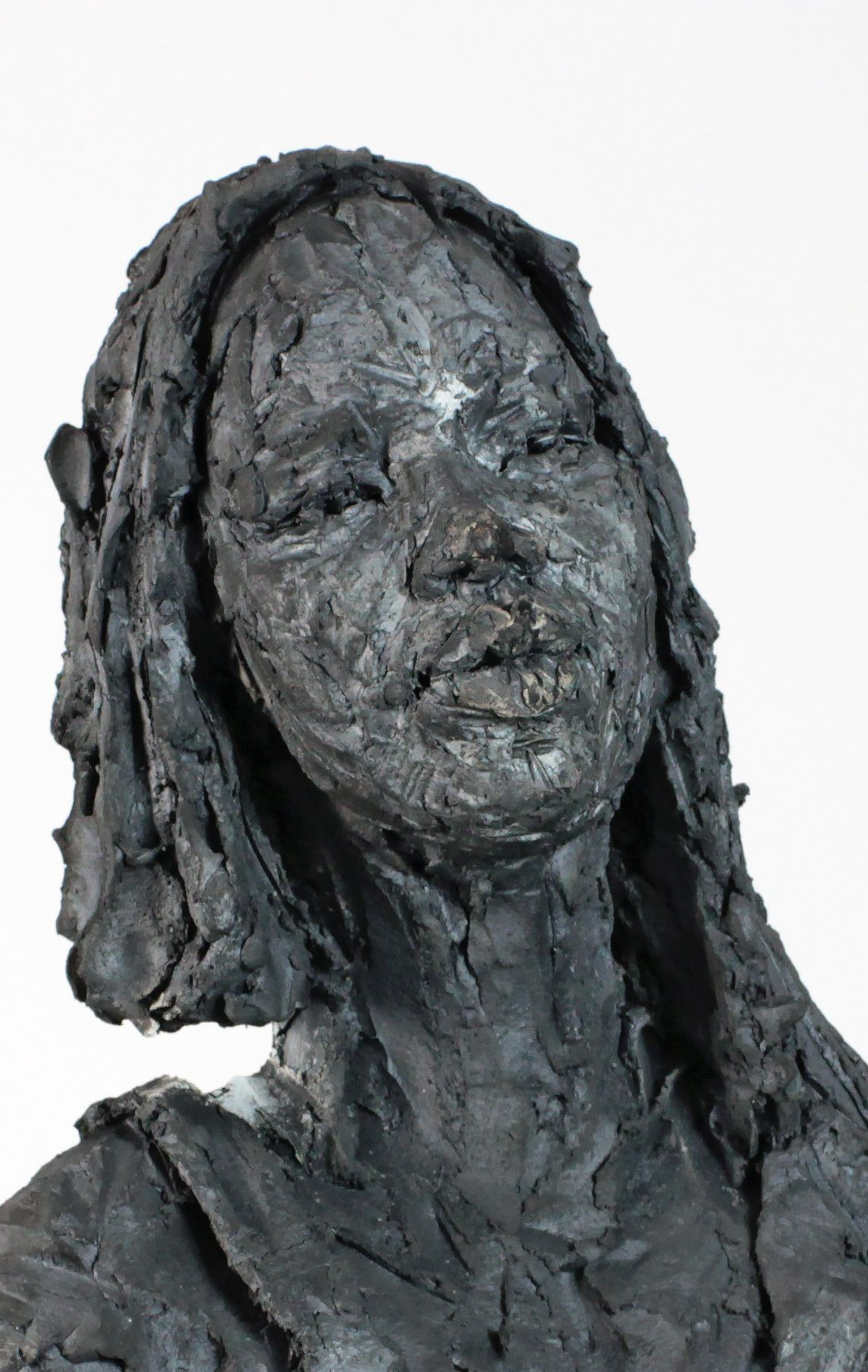 Solo (with Chloé),Cécile Raynal,Sculpture, detail 4