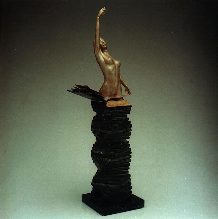 SOPHIA: 'The Birth of Culture' - Walter Peter Brenner - Sculpture - detail 1