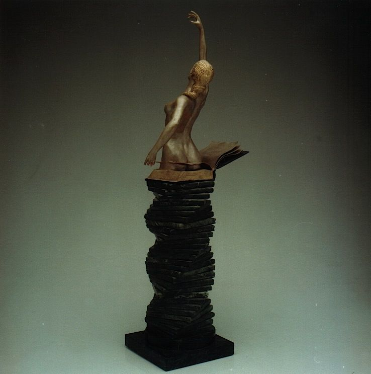 SOPHIA: 'The Birth of Culture' - Walter Peter Brenner - Sculpture - detail 2