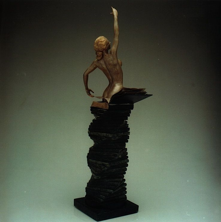 SOPHIA: 'The Birth of Culture' - Walter Peter Brenner - Sculpture - detail 3