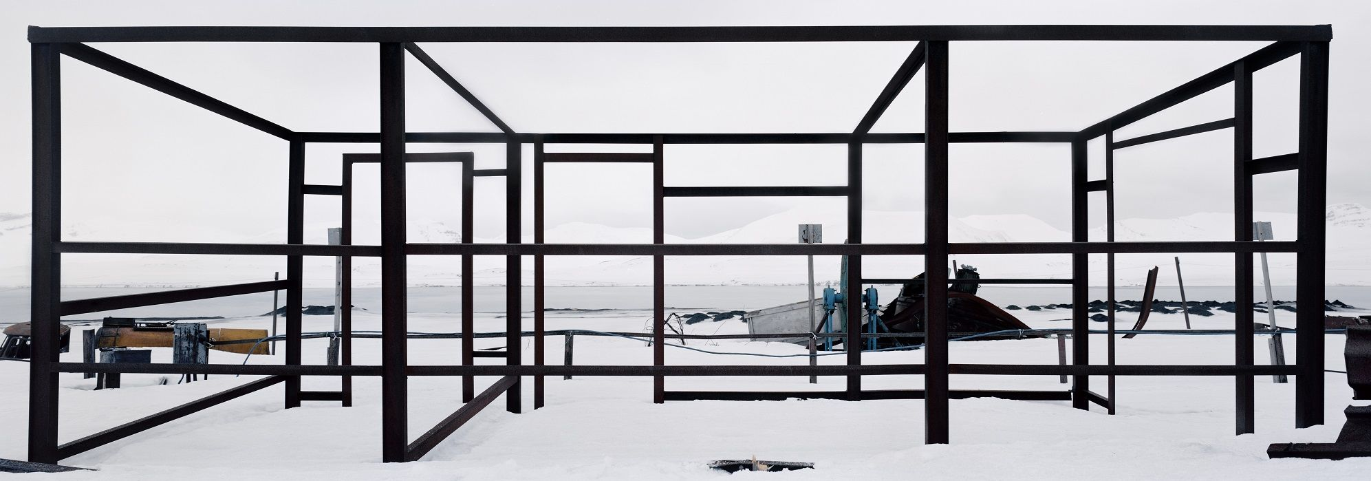 Steel Structure,Christian Houge,Photography