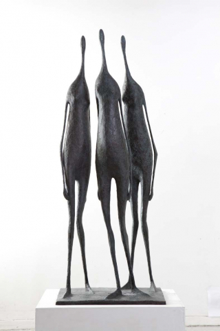 3 Large Standing Figures I