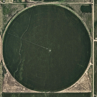 Aerial Views, Circle Irrigation 01