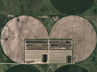Aerial Views, Circle Irrigation 03