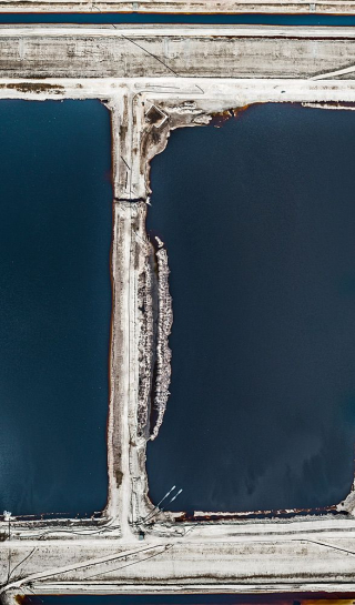 Aerial Views, Phosphate Mining 11