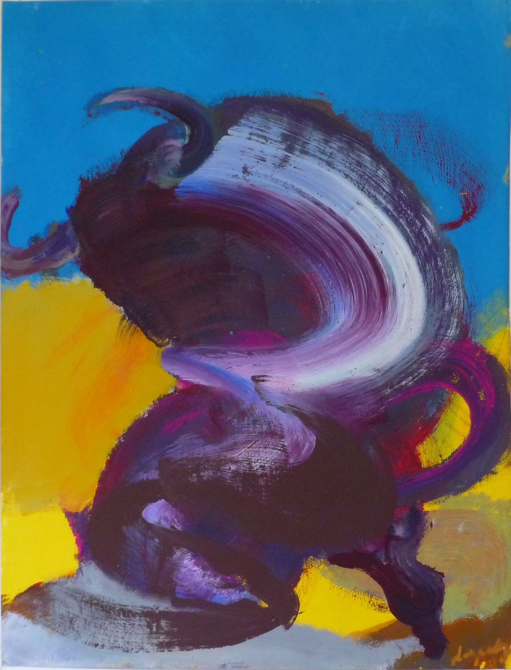 Contemporary painting - Christophe Dupety - Taureau III