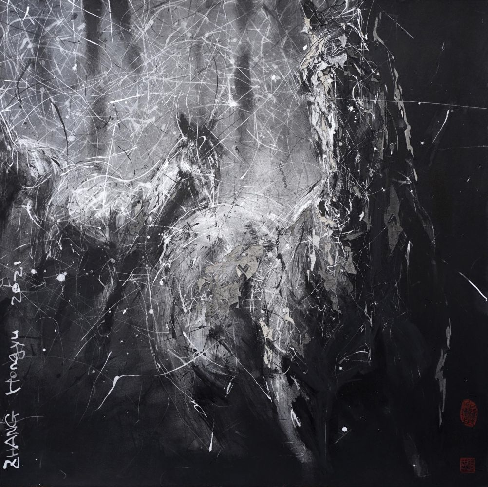 Contemporary painting - Hongyu Zhang - Nocturnal Melody 22