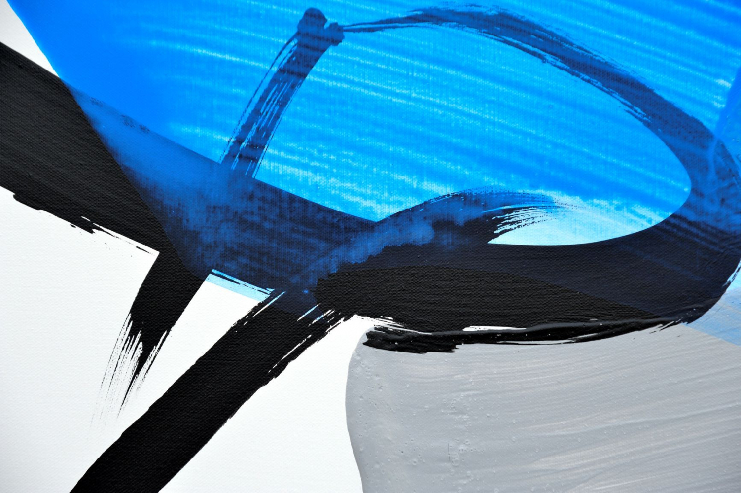 Permanescence TN720 D - Hachiro Kanno - Contemporary painting - detail 1
