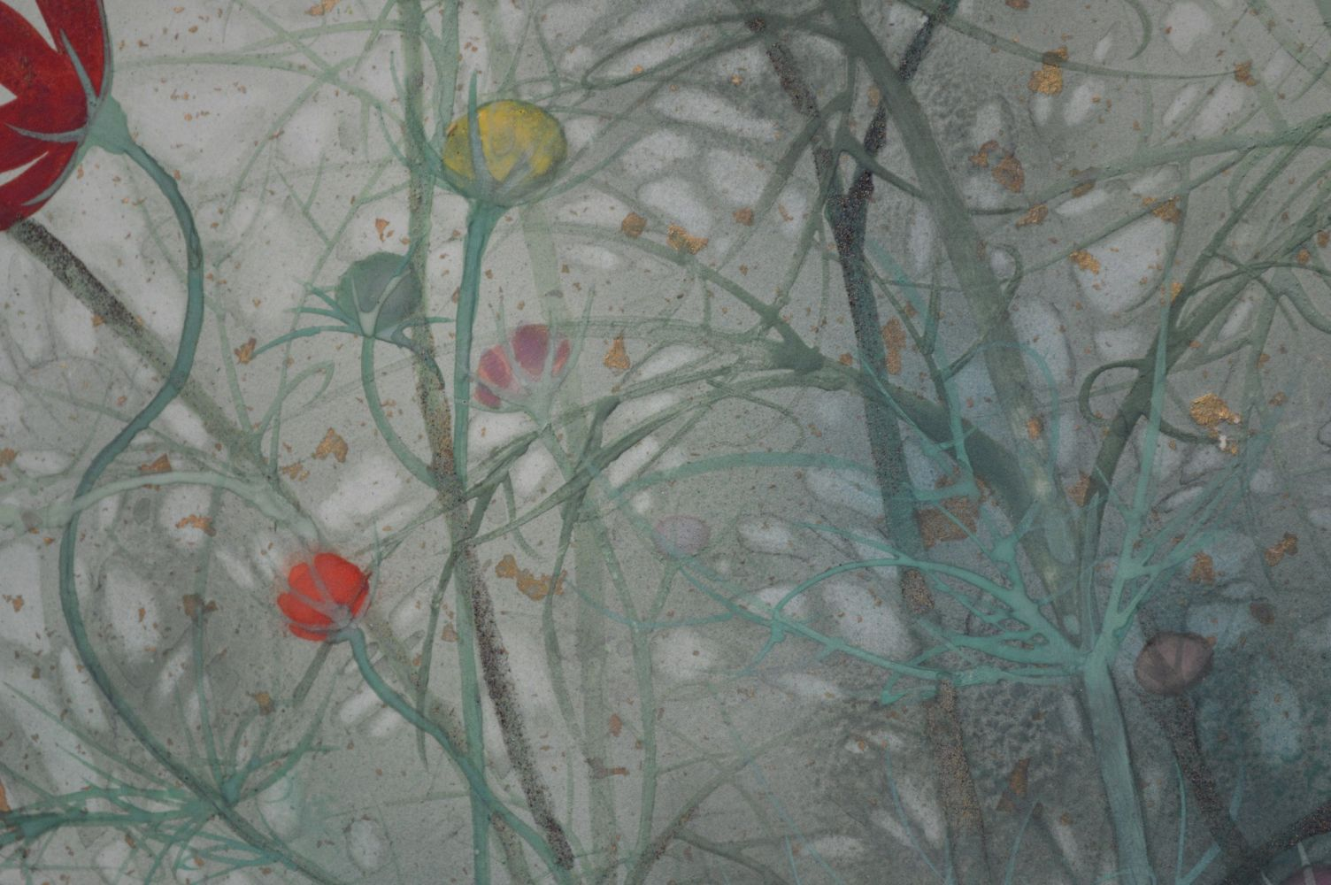 Contemporary painting - Chen Yiching - Ronde - detail 4