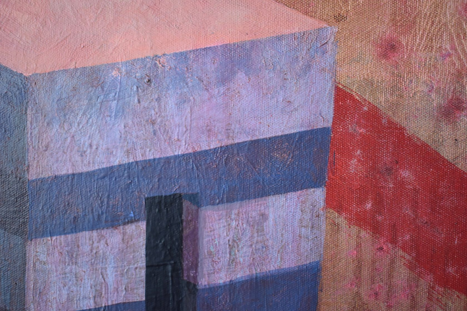 Contemporary painting - Ramon Enrich - RUV - detail 2