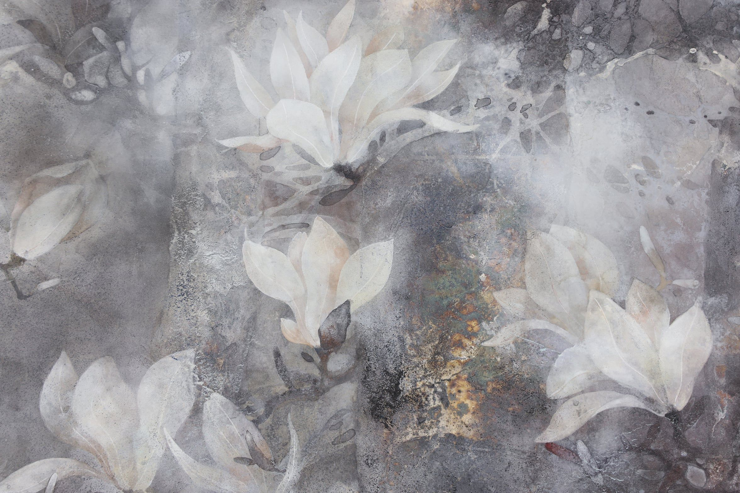 Temps,Chen Yiching,Peinture contemporaine, detail 3