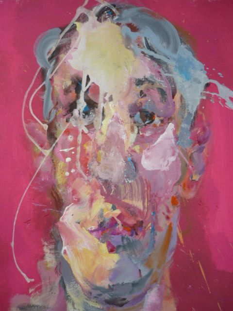 Tête,Christophe Dupety,Painting