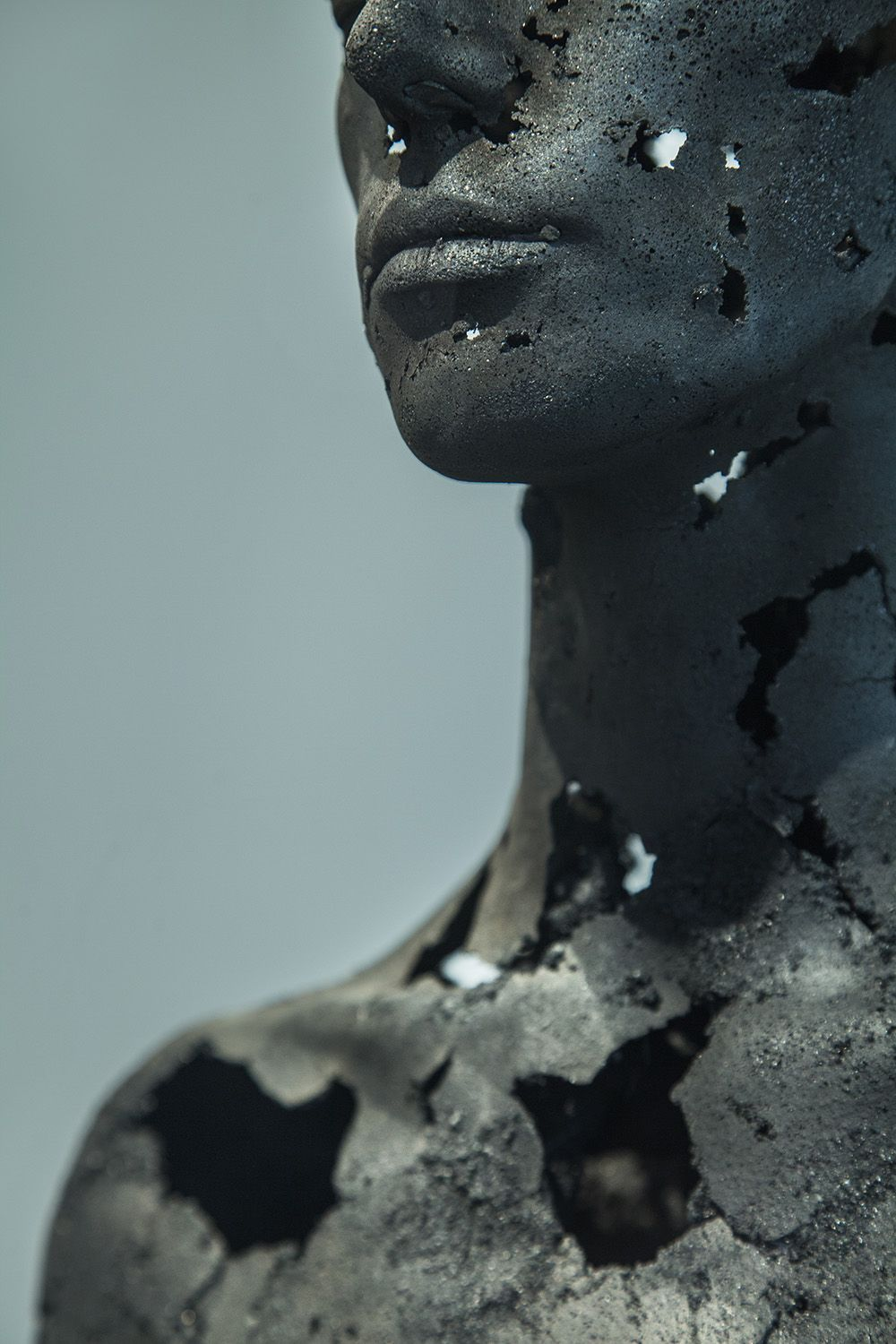 The Presence of Absence - Female (III),Tom Price,Sculpture, detail 3