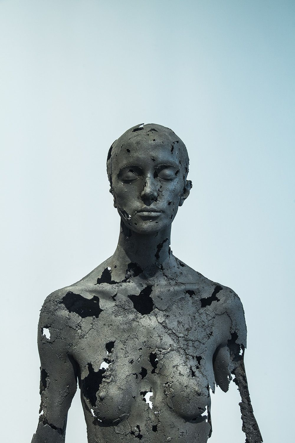 The Presence of Absence - Female (III),Tom Price,Sculpture, detail 2