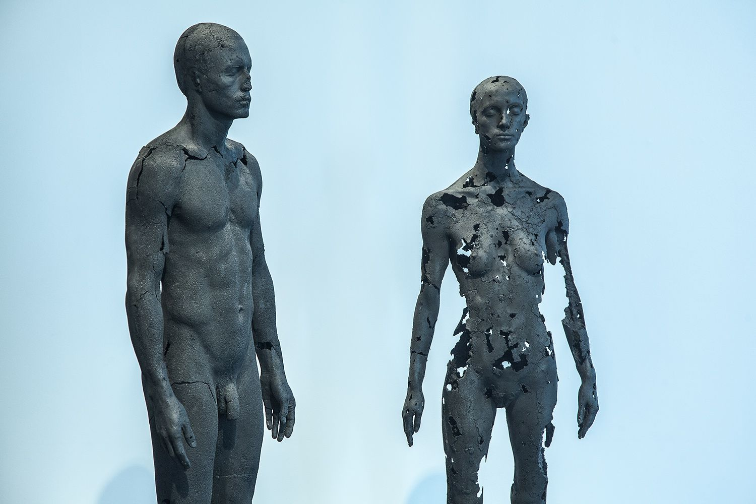 The Presence of Absence - Female (III),Tom Price,Sculpture, detail 1
