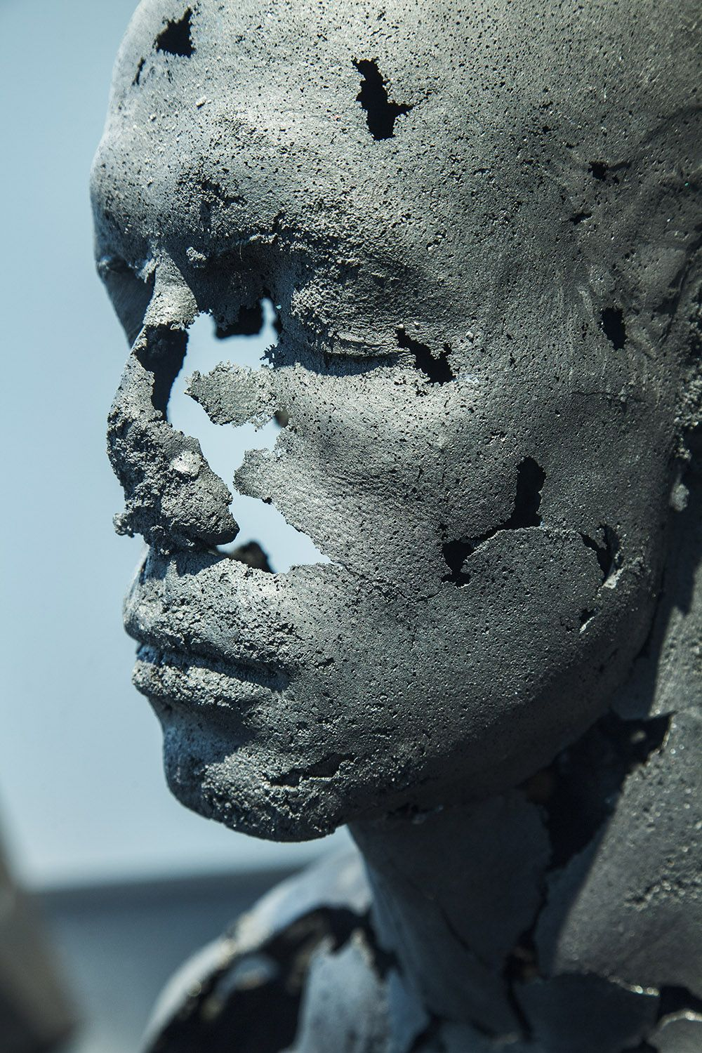 The Presence of Absence - Male (III) - Tom Price - detail 1