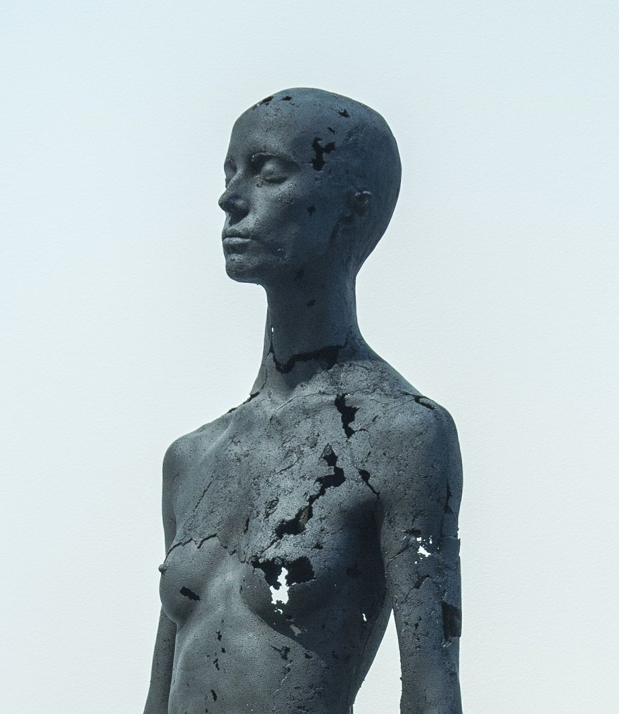 The Presence of Absence - Female (II),Tom Price,Sculpture, detail 1