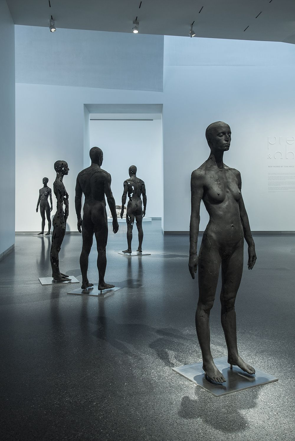 Sculpture - Tom Price - The Presence of Absence - Female (I) - detail 2