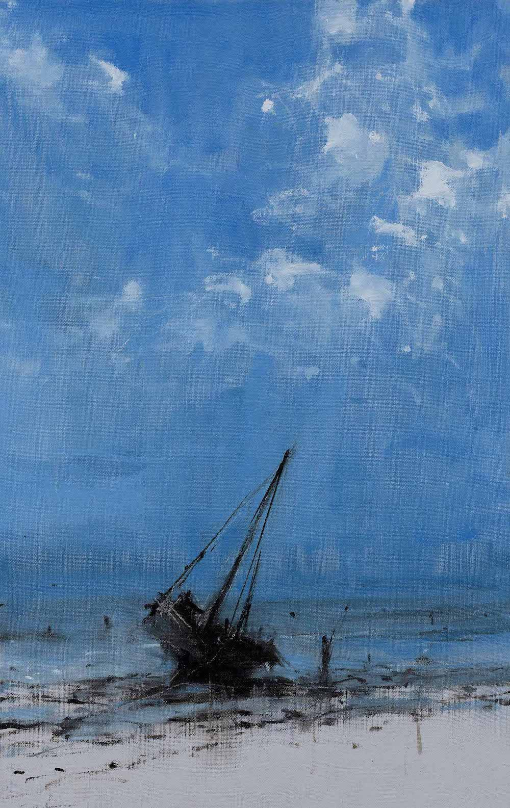 Contemporary painting - Calo  Carratalá - Everything is moving towards its end I