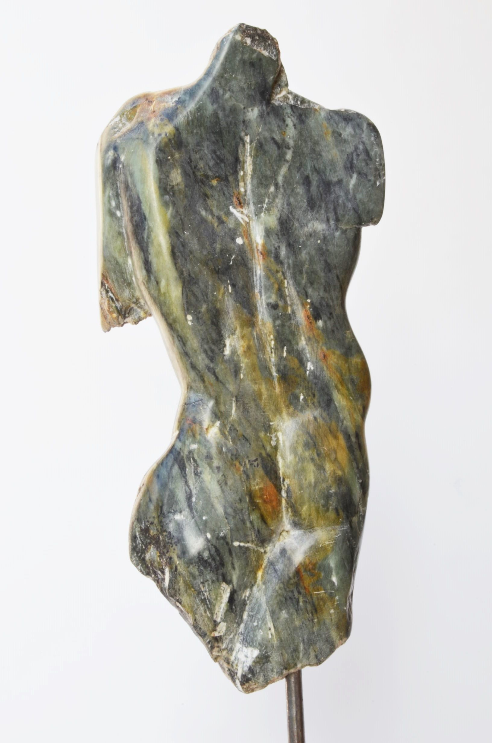 Torse d'homme III,Yann Guillon,Sculpture, detail 1