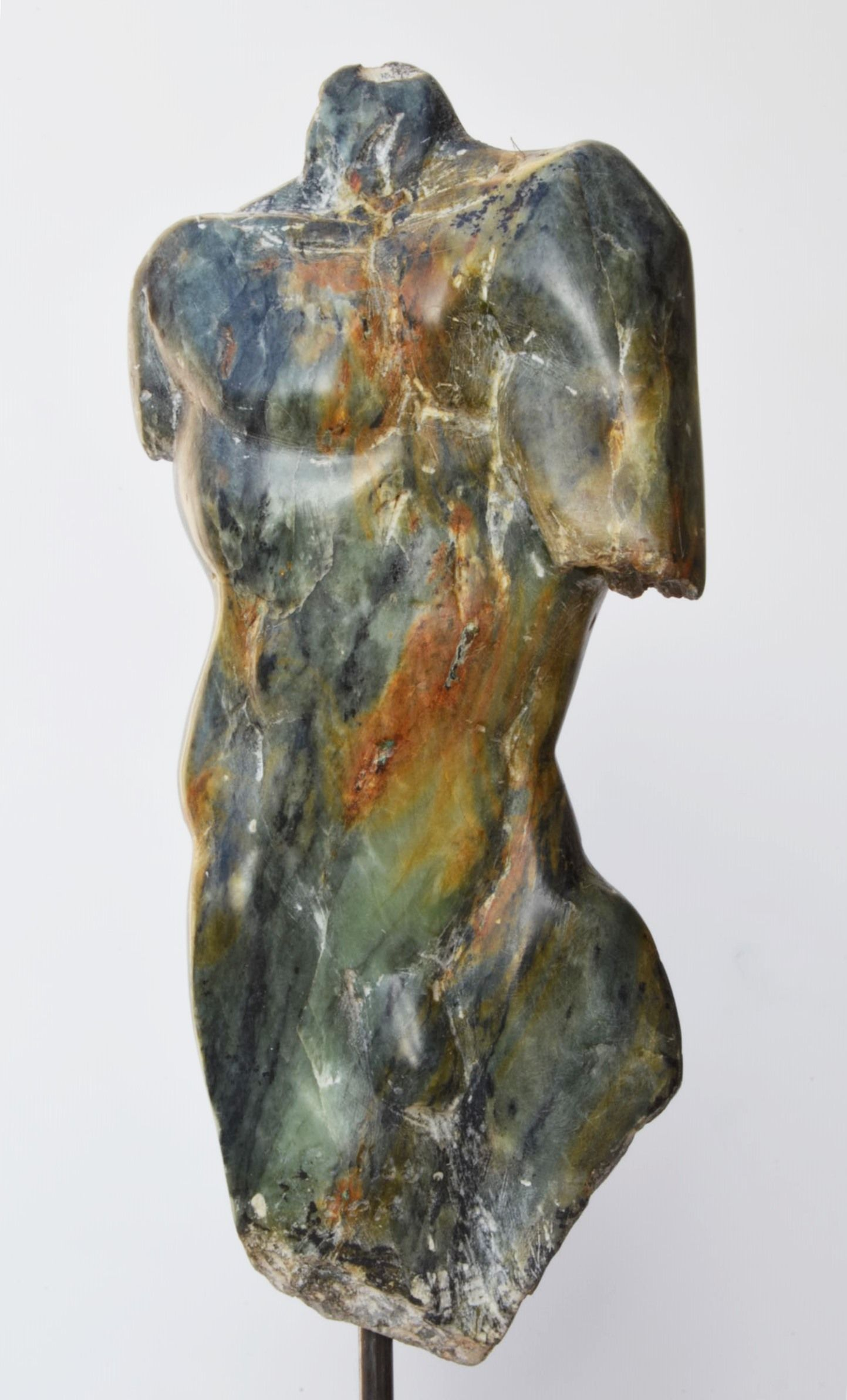 Torse d'homme III,Yann Guillon,Sculpture