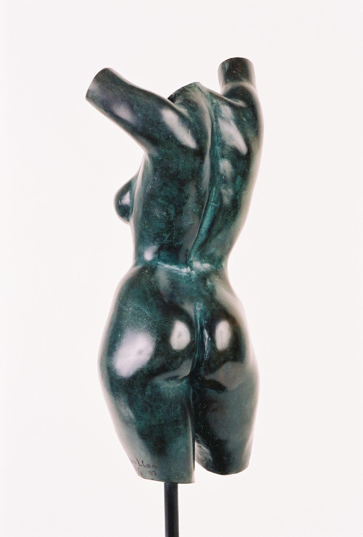 Torse de Caroline,Yann Guillon,Sculpture