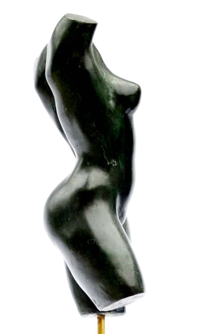 Caroline's Torso,Yann Guillon,Sculpture, detail 2