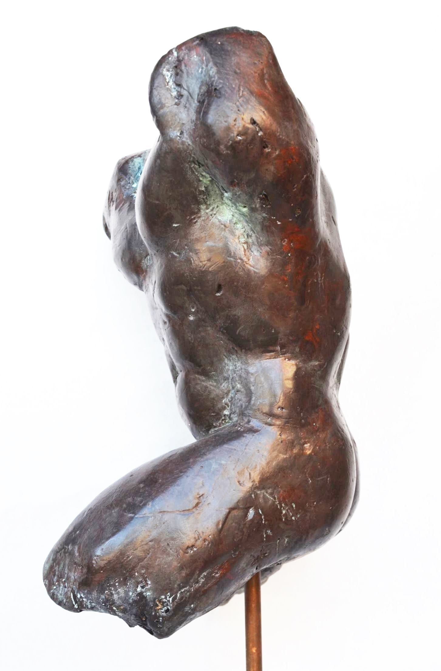 Impressionist man torso III,Yann Guillon,Sculpture, detail 1