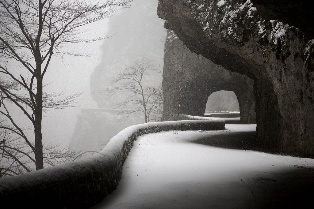 Tunnels, Vercors - Christophe Jacrot - Photography