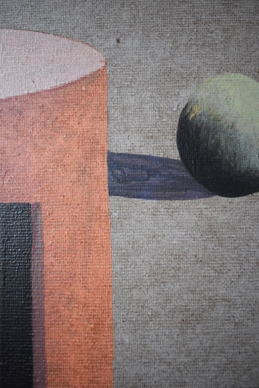 Turm K,Ramon Enrich,Contemporary painting, detail 3